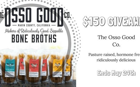 $150 The Osso Good Co. Bone Broth Giveaway