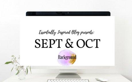 September & October Background