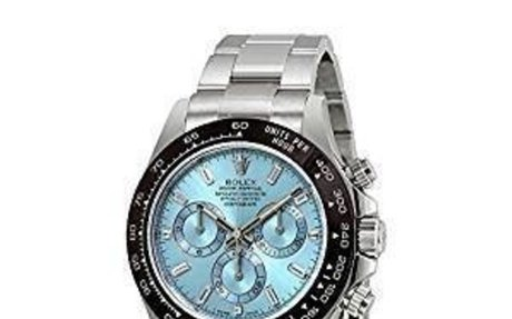 Rolex Oyster Perpetual Cosmograph Daytona Ice Blue Dial Automatic Mens Chronograph
