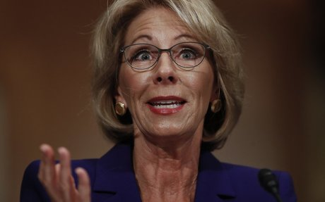 Betsy DeVos' Graduation Rate Mistake