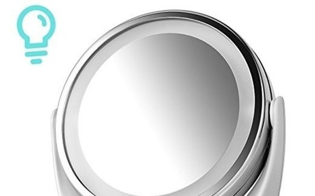 Amazon.com : Cosmetic Mirror, Kealive Double-Sided Vanity Mirror ( 1x / 5x Magnification )
