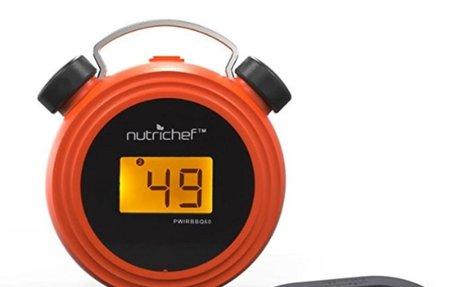 Smart Bluetooth BBQ Grill Thermometer - Digital Display,