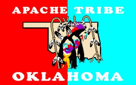 The Official Tribe Flag for the Apache (Geography)