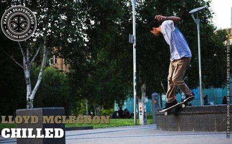 Karma Skateboards - Lloyd Mcleggon - Chilled