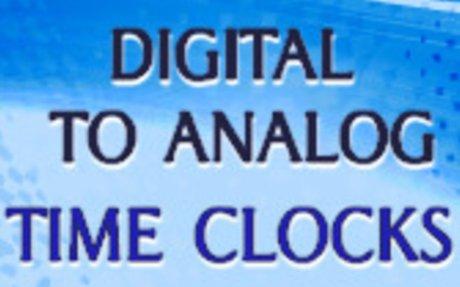 Digital to Analog Time Clocks - Telling Time Game