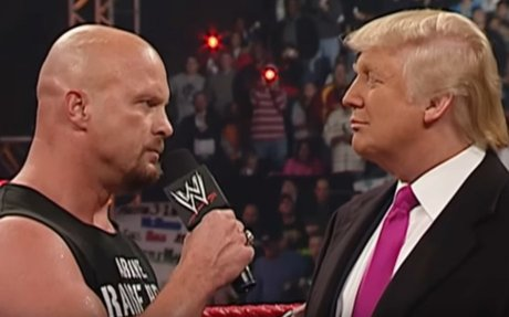When Donald Trump got 'stunned' by Stone cold Steve Austin