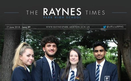 Raynes Park High School Times Issue 89