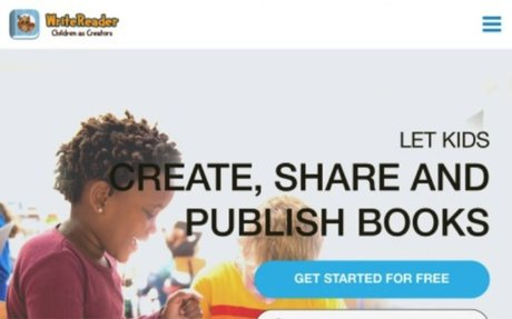 WriteReader - let kids create, share and publish books