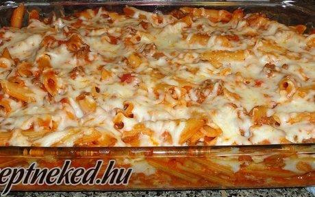 Paradicsomos rakott tészta, pillanatok alatt recept Ági konyhájából - Receptneked.hu