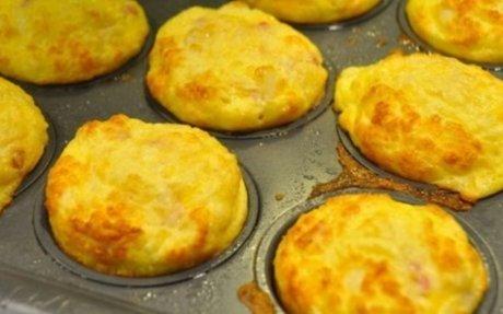 Különleges bundáskenyér muffin formában, reggelire vagy vacsorára!!