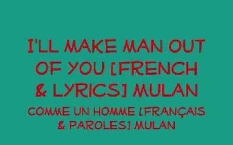 French Disney Songs
