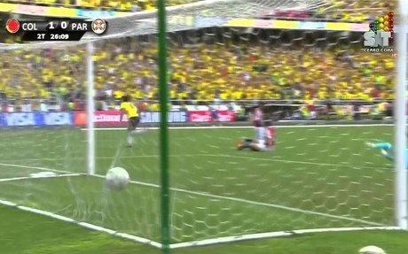 Falcao vs. Paraguay