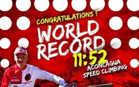 Karl Egloff fulmina el récord de Kilian Jornet en el Aconcagua