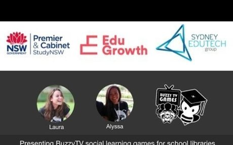 Social Learning & Games in School Libraries - Sydney EduTech NSW State Parliament