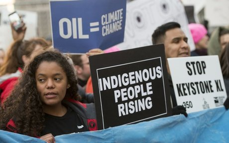 Native American leaders promise mass protests of Keystone XL, Dakota piplines