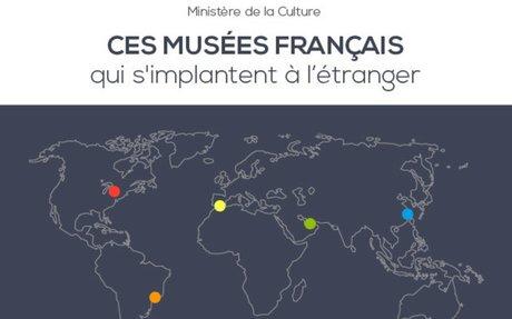 La carte des musées français dans le monde - Ministère de la Culture