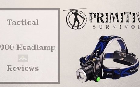 Tactical TL900 Headlamp Reviews - Alpha Male Nation