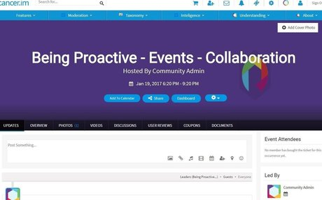 Being Proactive - Events - Collaboration