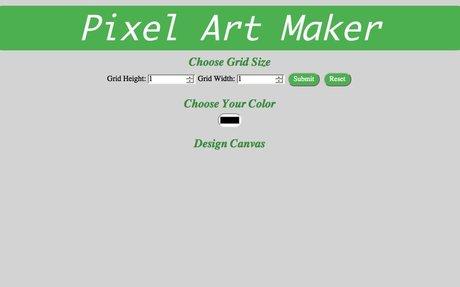 my pixelart project udacity