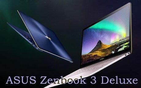 ASUS Zenbook 3 Deluxe notebook