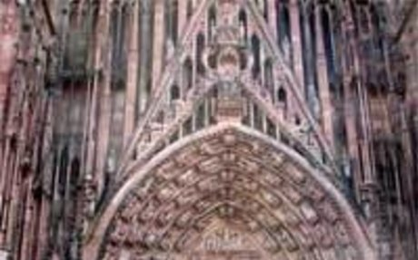 French Gothic art was influenced by the Church, royalty, and communes