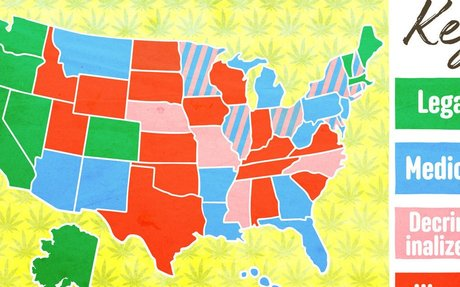 Puff, Puff, Passed: The Progress Toward Legal Weed in All 50 States