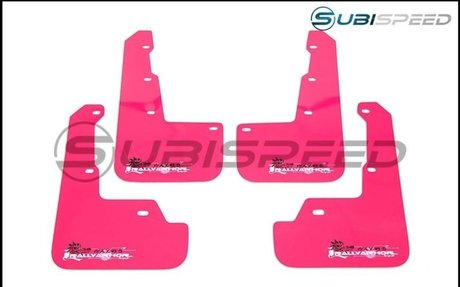Rally Armor Breast Cancer Awareness UR Mud Flap - 2015+ WRX / STI