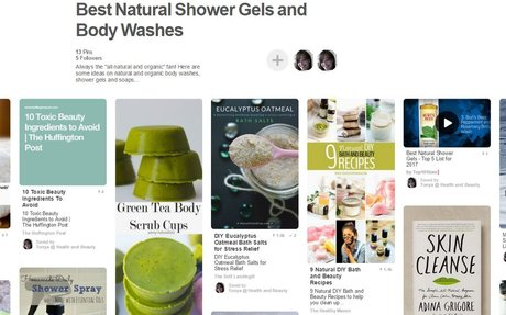 Best Natural Shower Gels and Body Washes