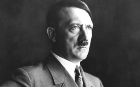 2. Adolf Hitler- Nazi leader