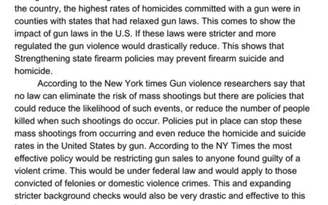 Would gun regulations and restrictions reduce the gun homicide rate?