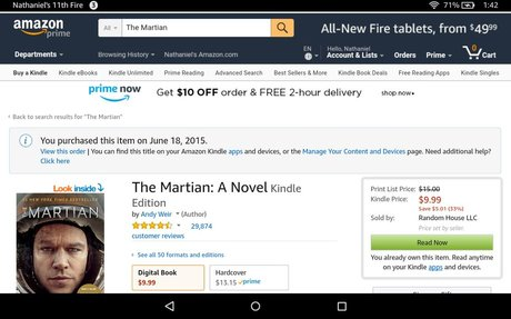 "Amazon is Beta-Testing the Label ""Digital Books"""