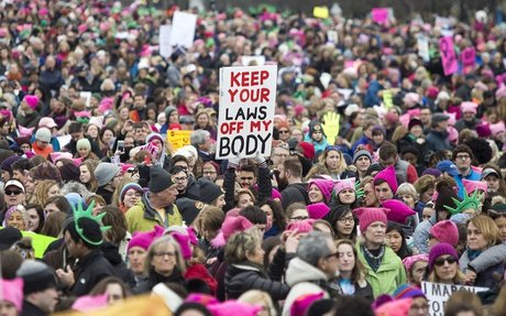 Boston Women's March 2018