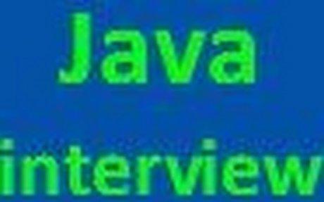 JavaInterview Questions