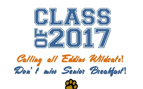 Eddins 2017 Senior Breakfast Invite