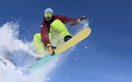 Snowboarding & Desserts in the Wild