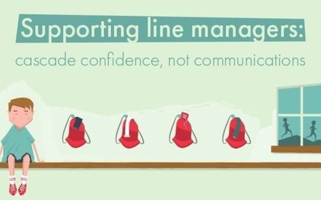 Supporting Managers: Cascade Confidence, Not Communications  #InternalComms