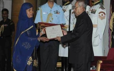 President Pranab Mukherjee's honour for Asia's first woman diesel engine driver