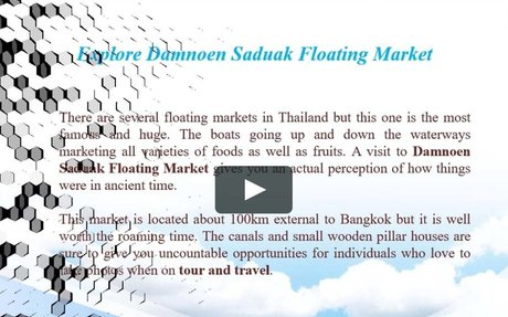 Gavin Manerowski - Many Different Things to do in Thailand