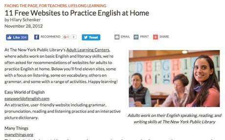 11 Free Websites to Practice English at Home