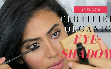 FIRST IMPRESSION: ANTONYM CERTIFIED ORGANIC EYESHADOW QUATTRO REVIEW/DEMONSTRATION/SWATCHE