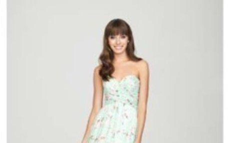 Choose Stylish Bridesmaid Dress of Jim Hjelm | flaresbridal.com