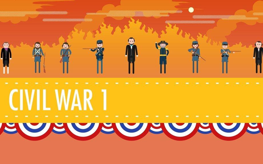 The Civil War, Part I: Crash Course US History