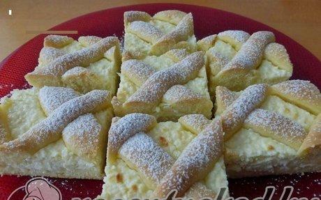 Túrós rácsos recept lara konyhájából - Receptneked.hu