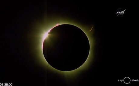 7) What are the safety measures to take when viewing the solar eclipse?