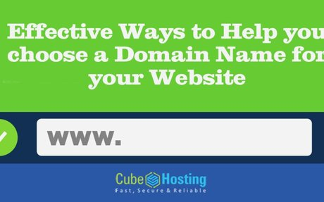Effective Ways to Help you choose a Domain Name for your Website