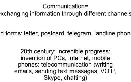 Old and new forms of communication.ppt