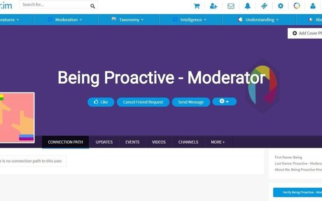 Being Proactive - Moderator