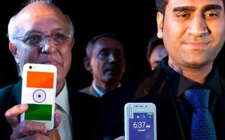 Freedom 251 boss Mohit Goel detained by police for pulling a 420