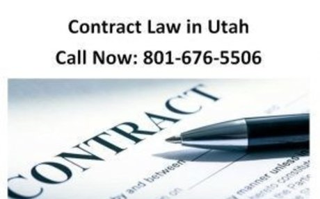 Contract Law in Utah 801-676-5506