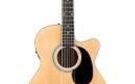Plays guitar